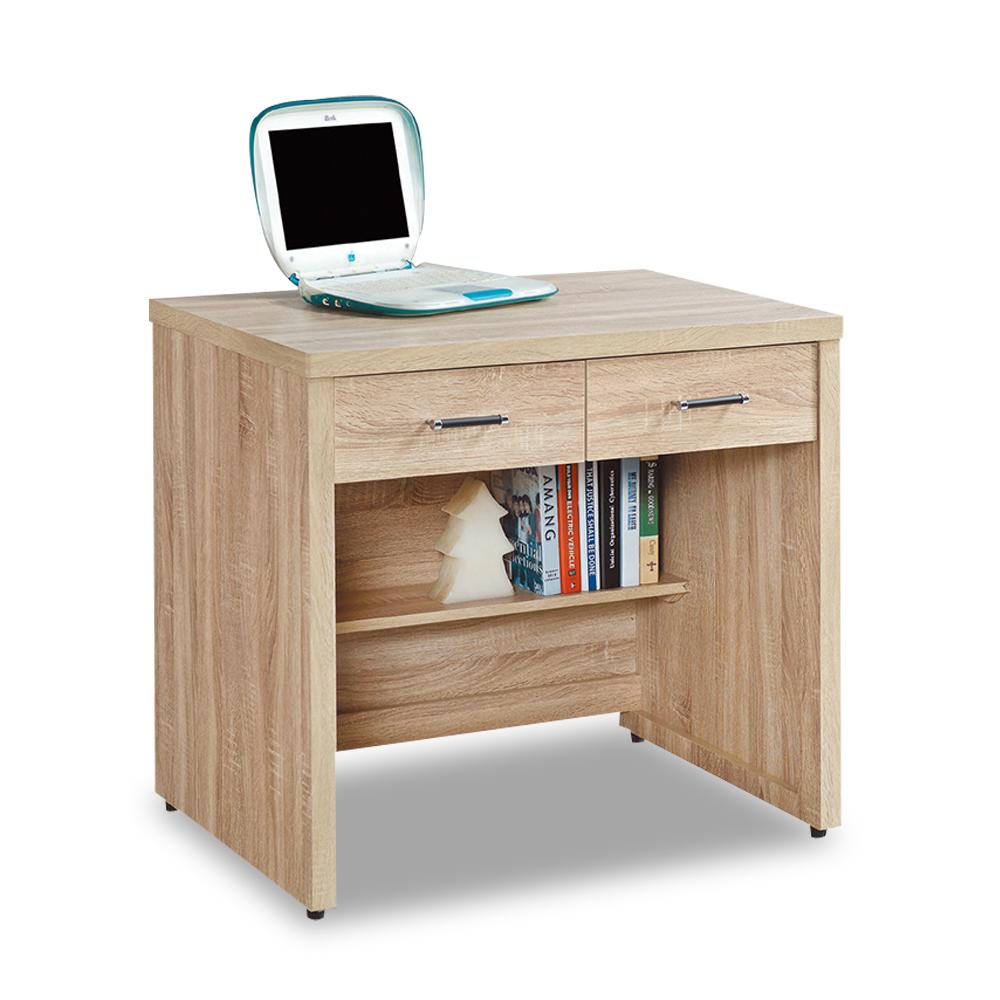 時尚屋 波香橡木2.7尺書桌  寬82x深60.5x高81cm