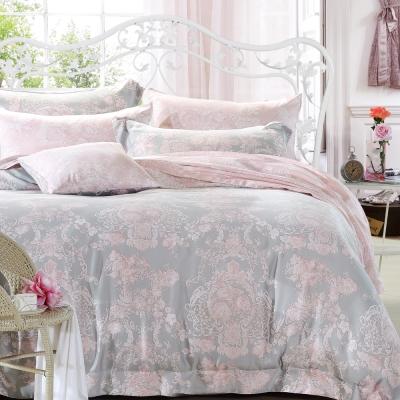 Ania Casa 浪漫狄安娜 原廠天絲 採用3M吸溼排汗專利-加大鋪棉兩用被床包組