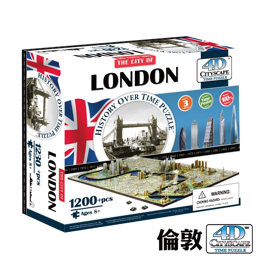 4D Cityscape 4D 立體城市拼圖 - 倫敦1200 片 +