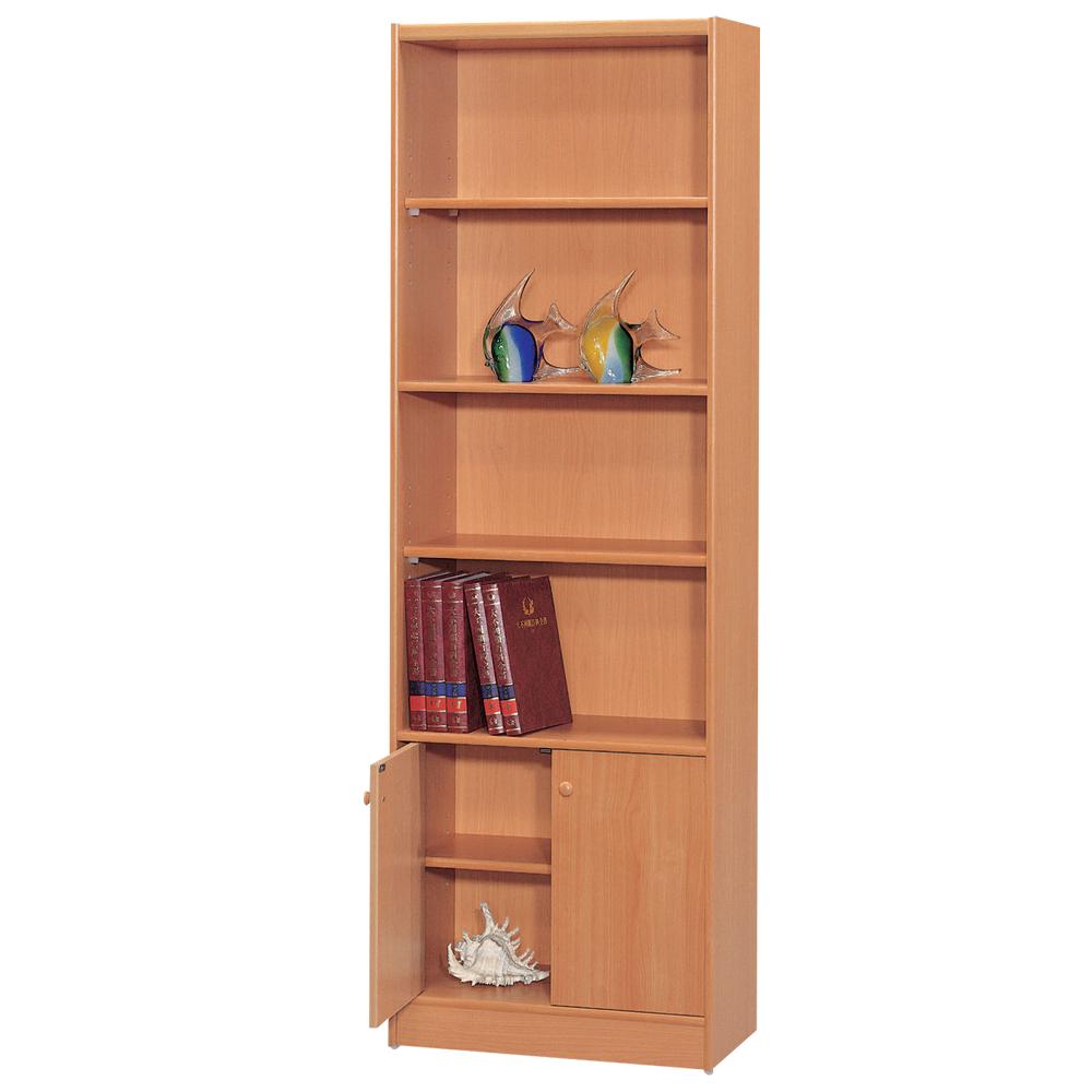 時尚屋 豪豐2x6尺1門書櫃 寬60cm 多色可選-免組