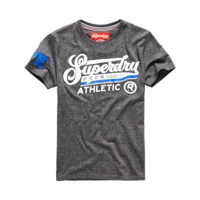 SUPERDRY 極度乾燥 文字短袖 T恤 灰色 0023