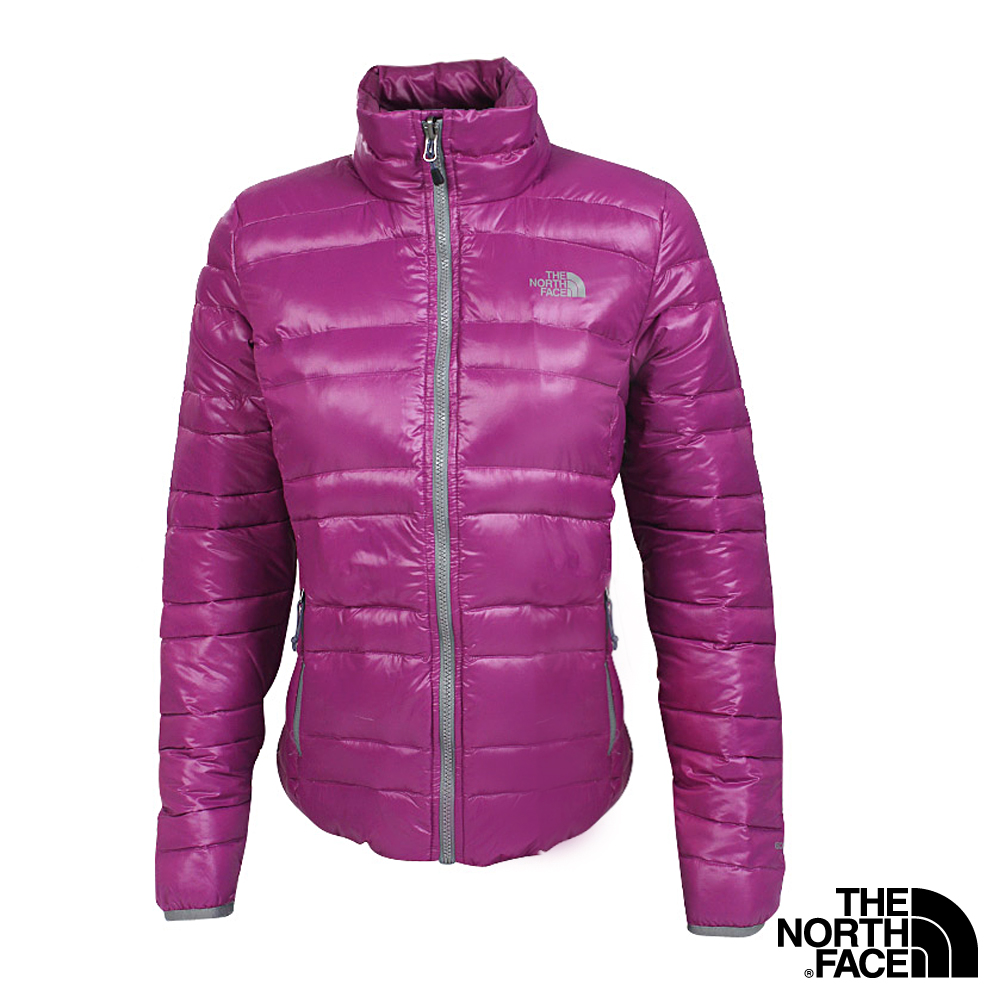 The North Face 女 600FILL 羽絨外套 奢華紫