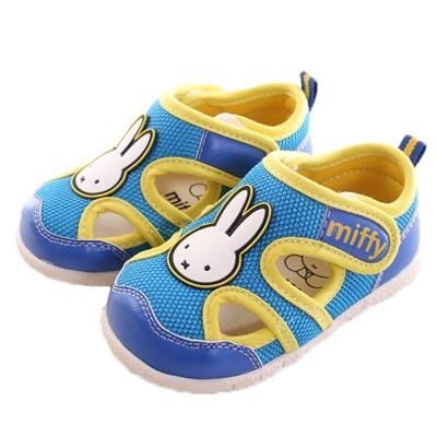 米飛兔魔鬼貼寶寶鞋 藍黃 sk0114魔法Baby