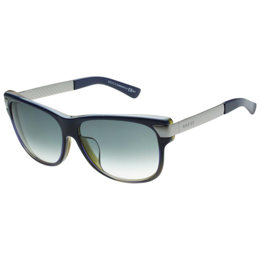 GUCCI-時尚太陽眼鏡(藍色)
