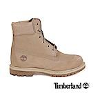 Timberland 女款自然原色絨面Icon6吋防水靴