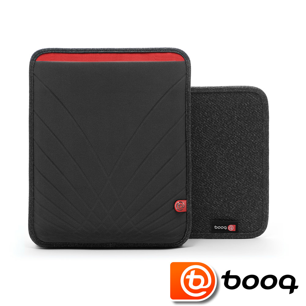 Booq Boa skin XS Apple iPad 專用保護套-黑紅色(共一色)