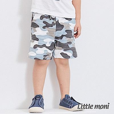 Little moni 迷彩五分褲 (2色可選)