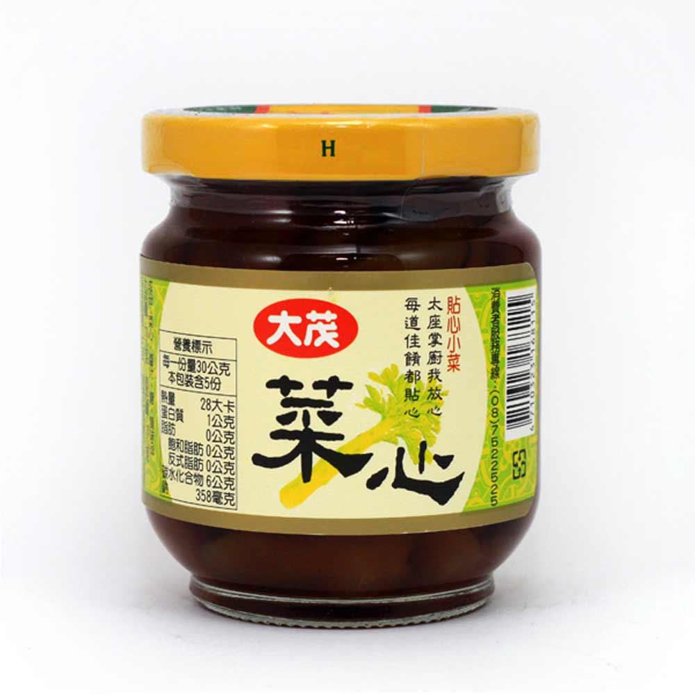 大茂 菜心-玻璃瓶(170gx6入)