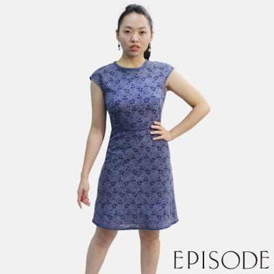 EPISODE - Joyce 氣質蕾絲簍空修身洋裝