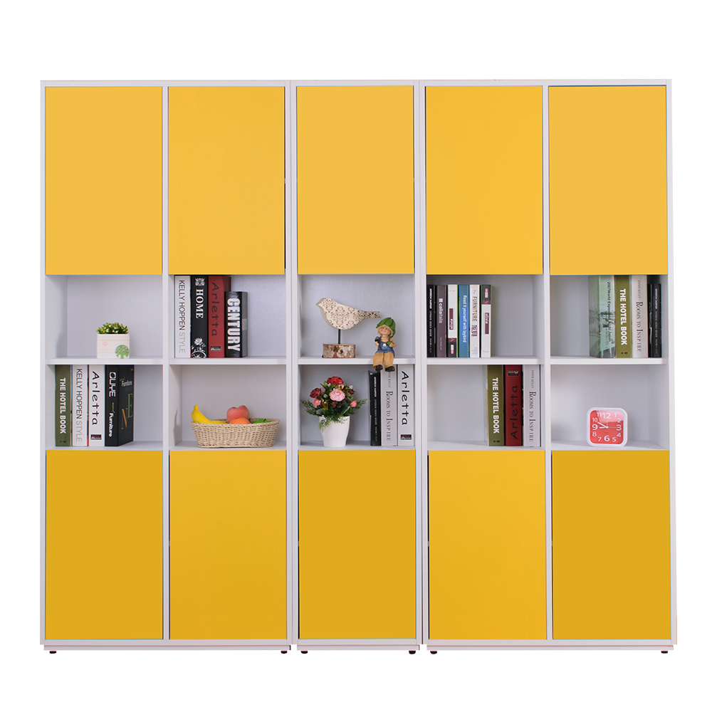 AT HOME-蒂芬妮6.7尺彩色中空書櫃(五色可選)