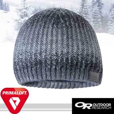 【Outdoor Research】Emerson 輕量抗水透氣毛織雙層保暖帽子/灰