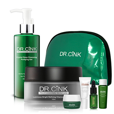 Dr.CINK達特聖克 煥膚潔顏瞬效泥膜限定組