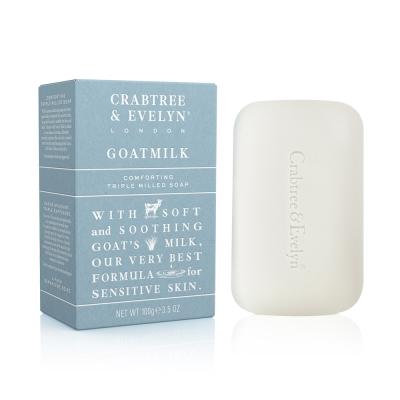Crabtree & Evelyn瑰珀翠 新山羊乳柔性洗面皂100g