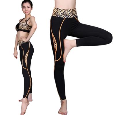 Seraphic 時尚運動壓縮褲(虎紋)
