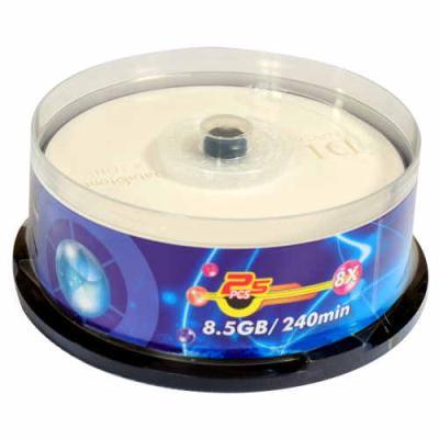 DataStone 精選日本版正A級 DVD+R DL 8X 桶裝 (25片)