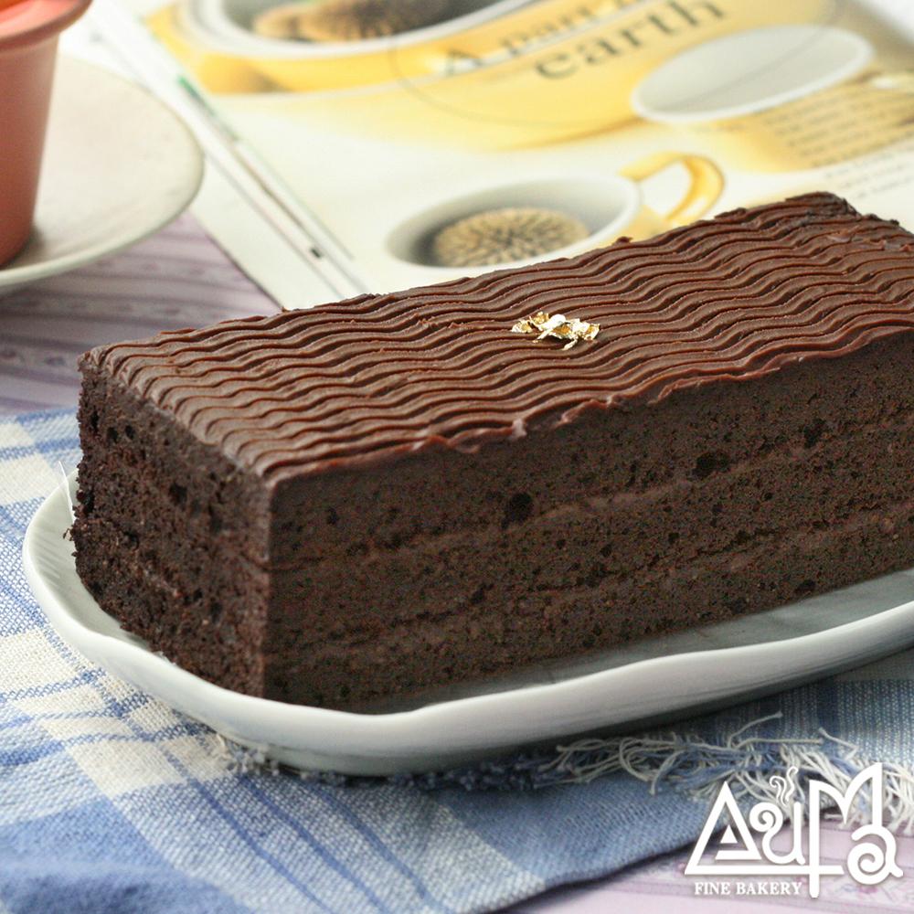 【奧瑪】黑美人金磚巧克力325g±10g*1條