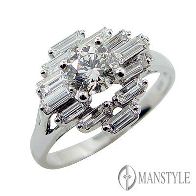 MANSTYLE DIAMOND「幸福光采」0.59ct 花式切割鑽戒