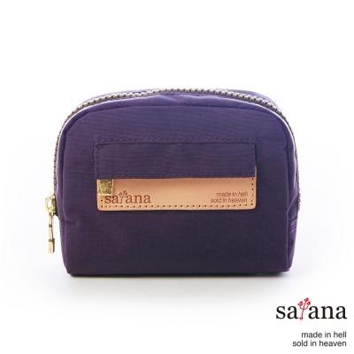 satana - 迷你隨身化妝包/零錢包 - 紫色