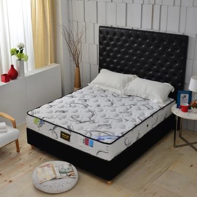MG珍寶-瑞士Sanitized涼感乳膠抗菌除臭 側邊強化獨立筒床墊-雙人加大6尺-護腰床