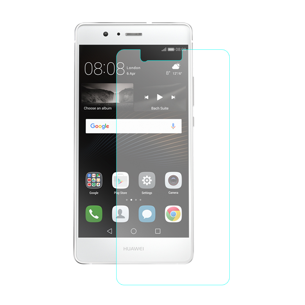 【SHOWHAN】HUAWEI華為 P9 9H鋼化玻璃貼 0.3mm疏水疏油高清抗指紋