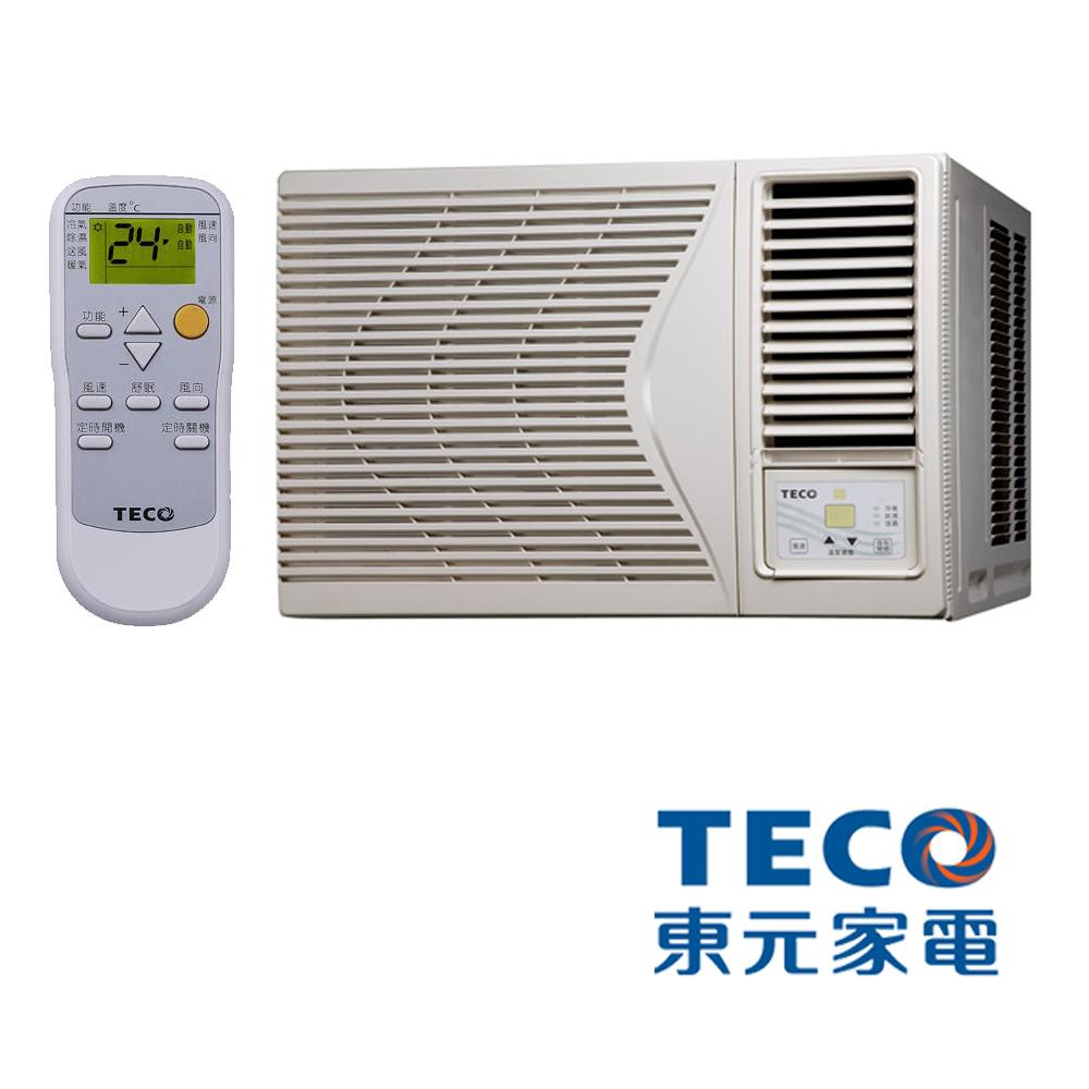 TECO東元 5-6坪R410高效能右吹式窗型冷氣MW25FR2