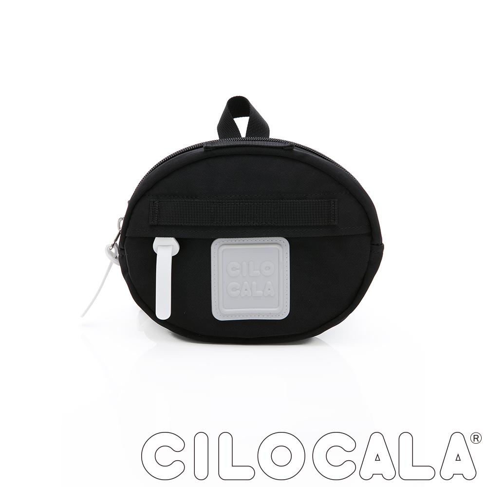 CILOCALA 亮彩尼龍防潑水MINI TAMAGO側背包(小)  黑色