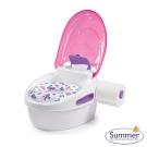 美國 Summer Infant 豪華3合1兒童馬桶練習組 - 粉色
