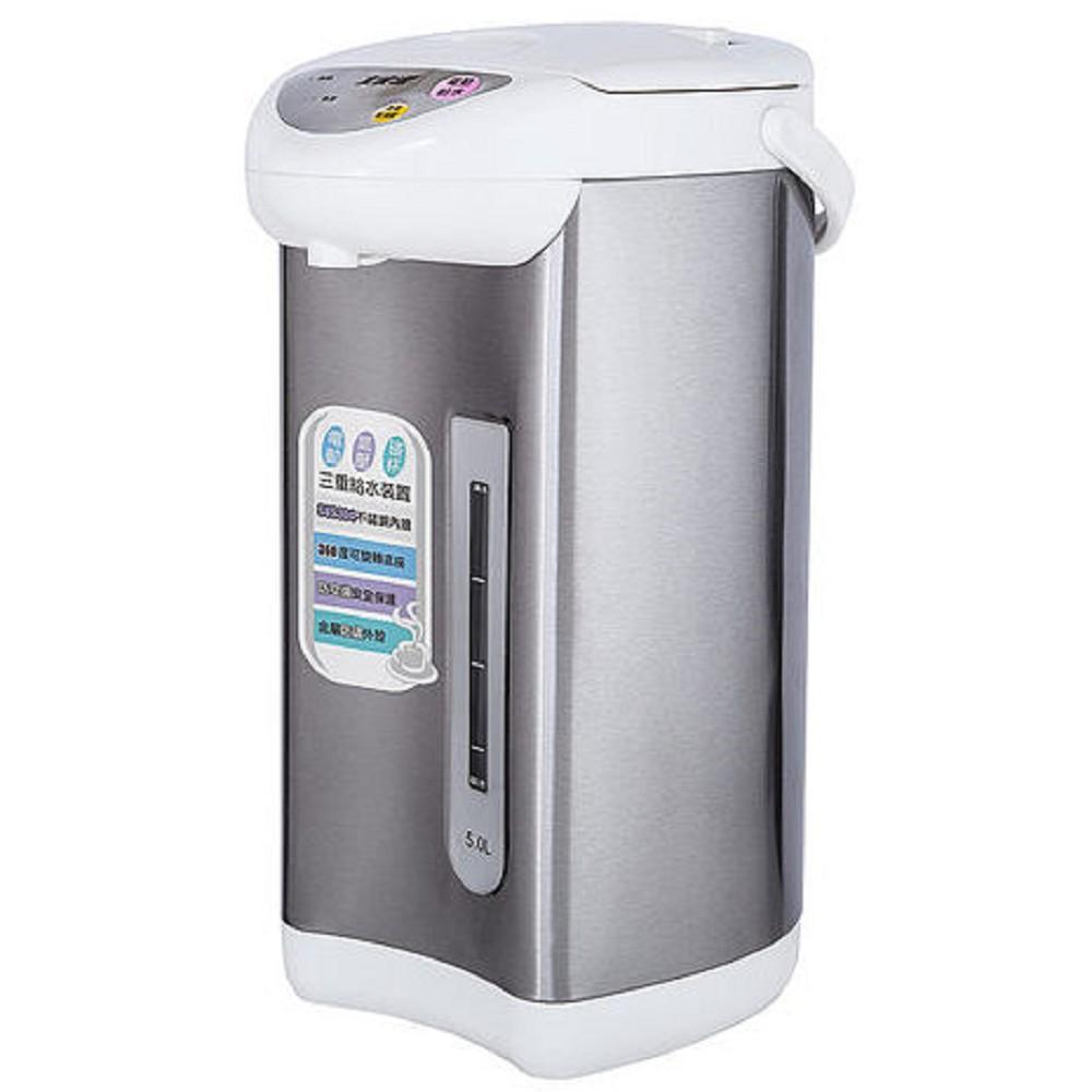 大家源304不鏽鋼5L電動熱水瓶TCY-2225
