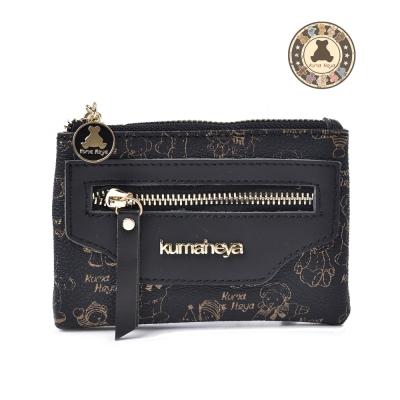kuma heya -黃金熊卡式收納零錢包 共五色