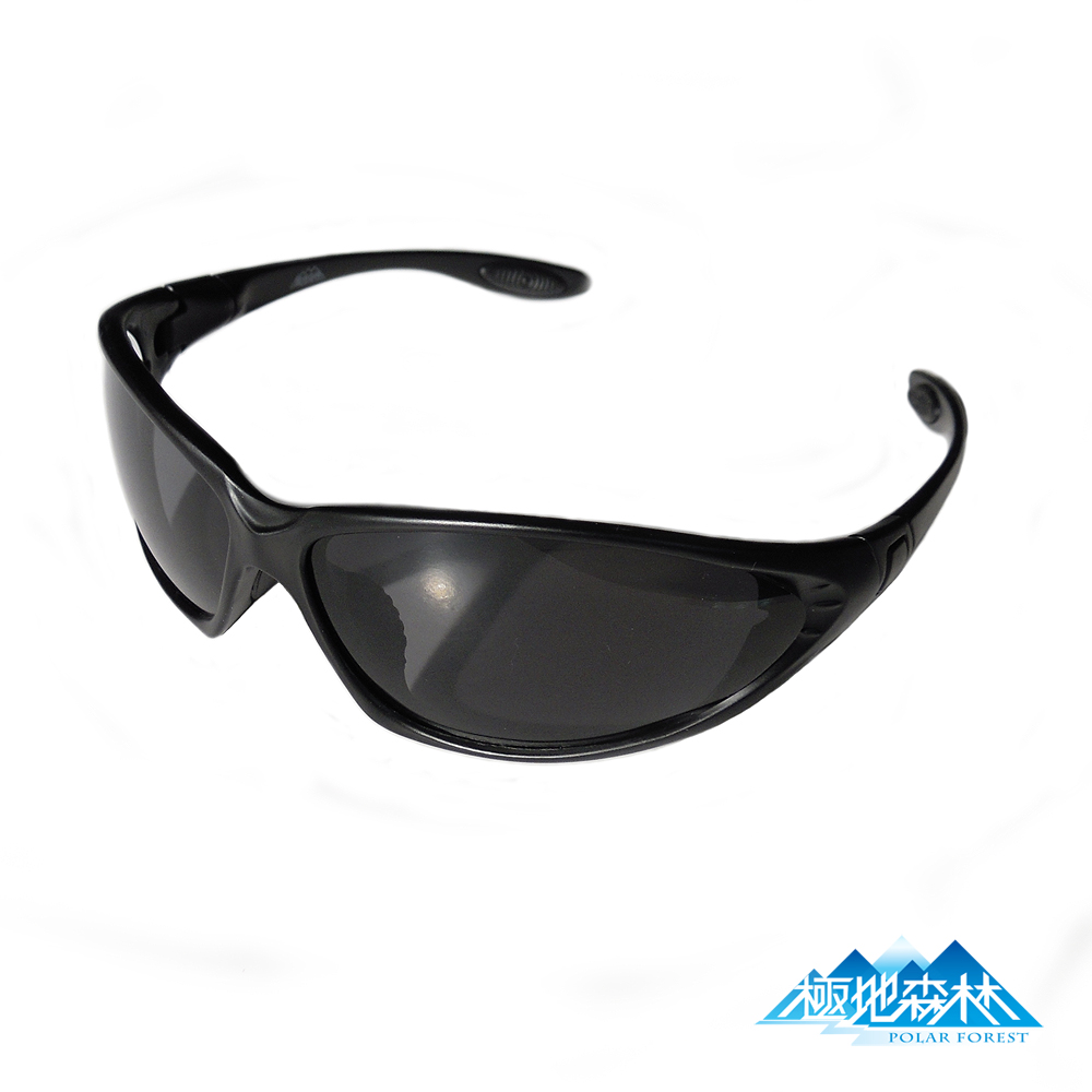 【極地森林】深灰色TAC寶麗萊偏光鏡片運動太陽眼鏡(7444) - 快速到貨