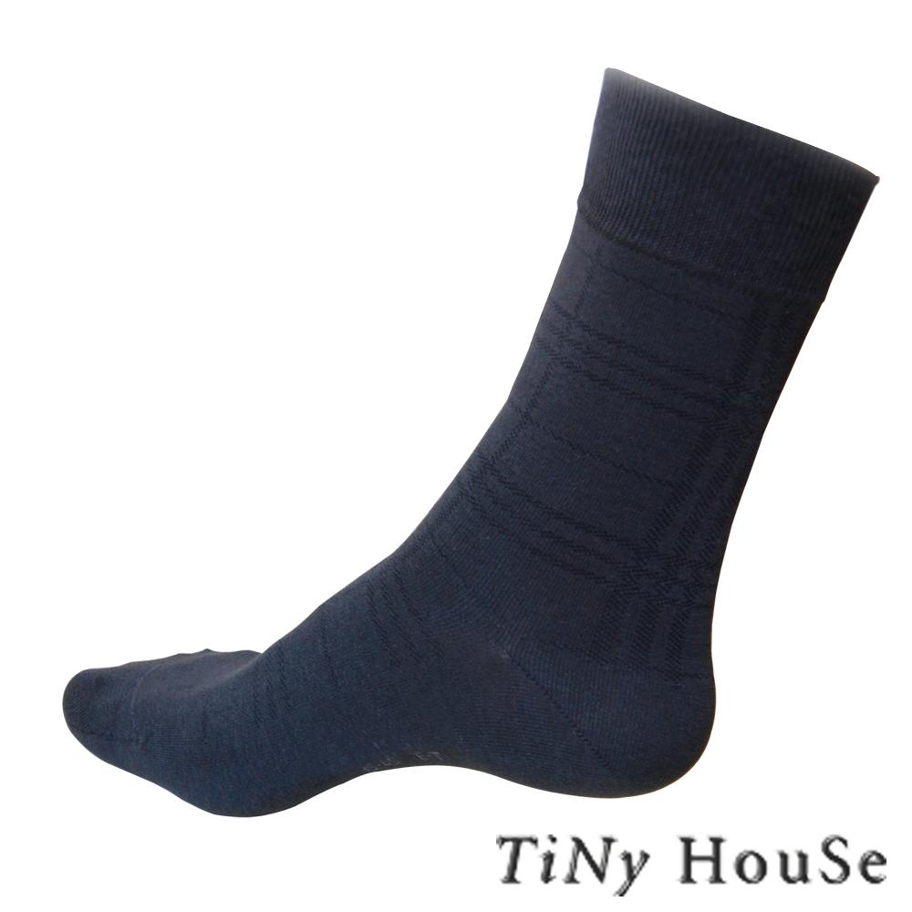 (任選)TiNyHouSe舒適襪 薄型休閒紳士襪 中灰色1雙入