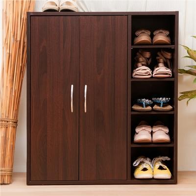 澄境 五層雙門鞋子收納櫃70x31x81cm