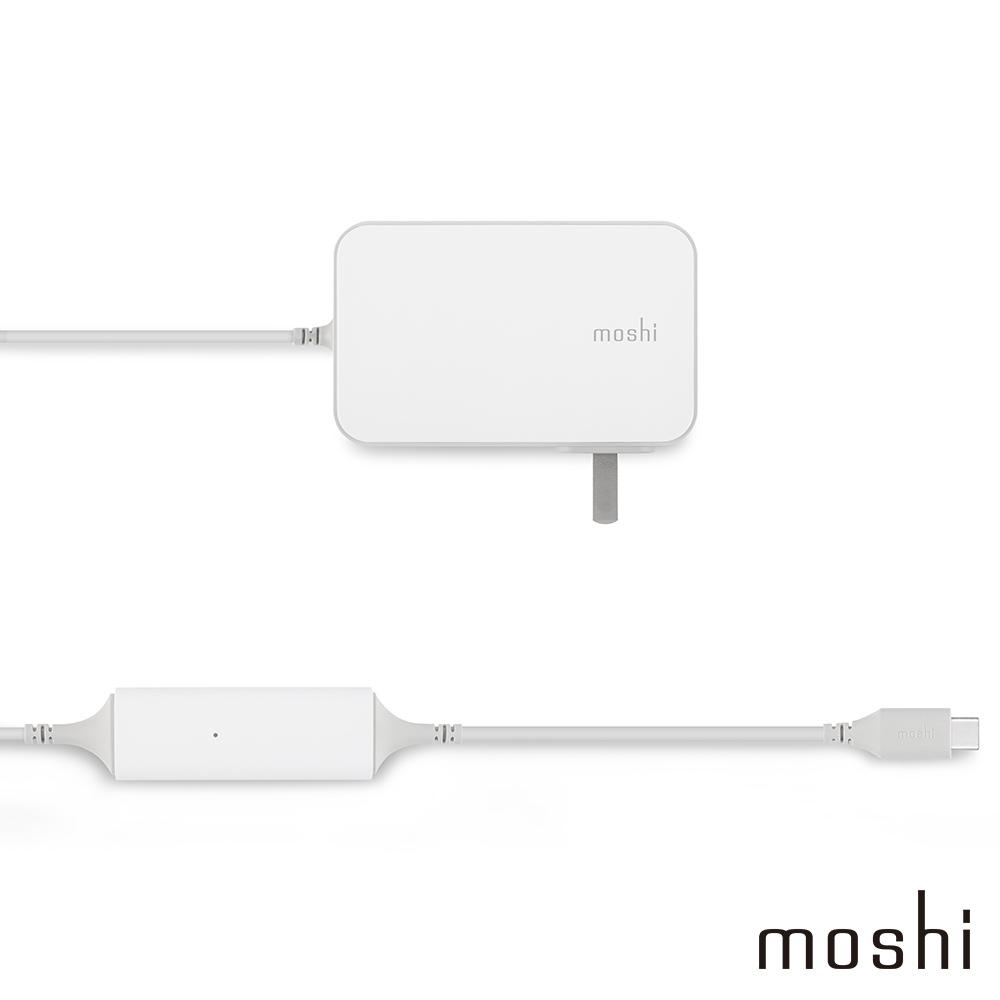 Moshi ProGeo 旅充系列 USB-C 筆電充電器 (65W)