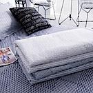 OLIVIA  蘭斯洛 白  5尺X6尺 100%精梳純棉夏日涼被