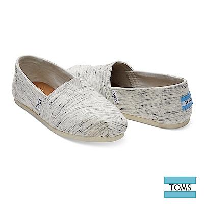 TOMS 平紋混織舒適棉布休閒鞋-女款