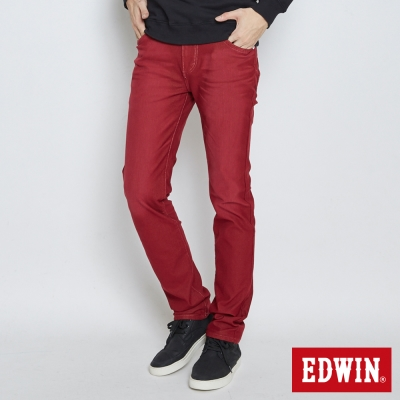 EDWIN AB褲 503JERSEYS迦績色褲-男-紅色
