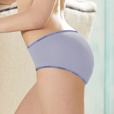 瑪登瑪朵-2014AW  低腰寬邊三角褲 M-XL(光柔紫)