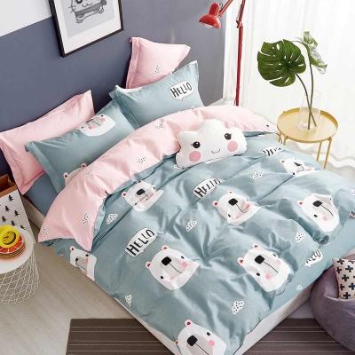 Ania Casa 小萌仔 單人兩件式 100%精梳棉 台灣製 床包枕套純棉兩件組