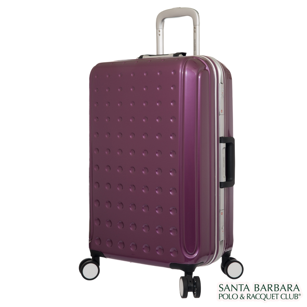 SB Polo 尤蒂卡28吋鋁框行李箱-紫色(PO815828PL)