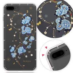 KnowStar APPLE iPhone8 Plus/i7+奧地利彩鑽防摔手機殼-蘭亭序