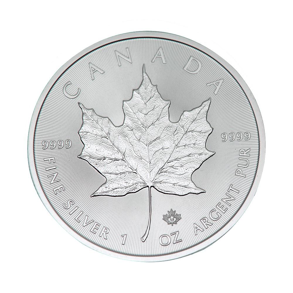 楓葉銀幣-2017楓葉銀幣1盎司