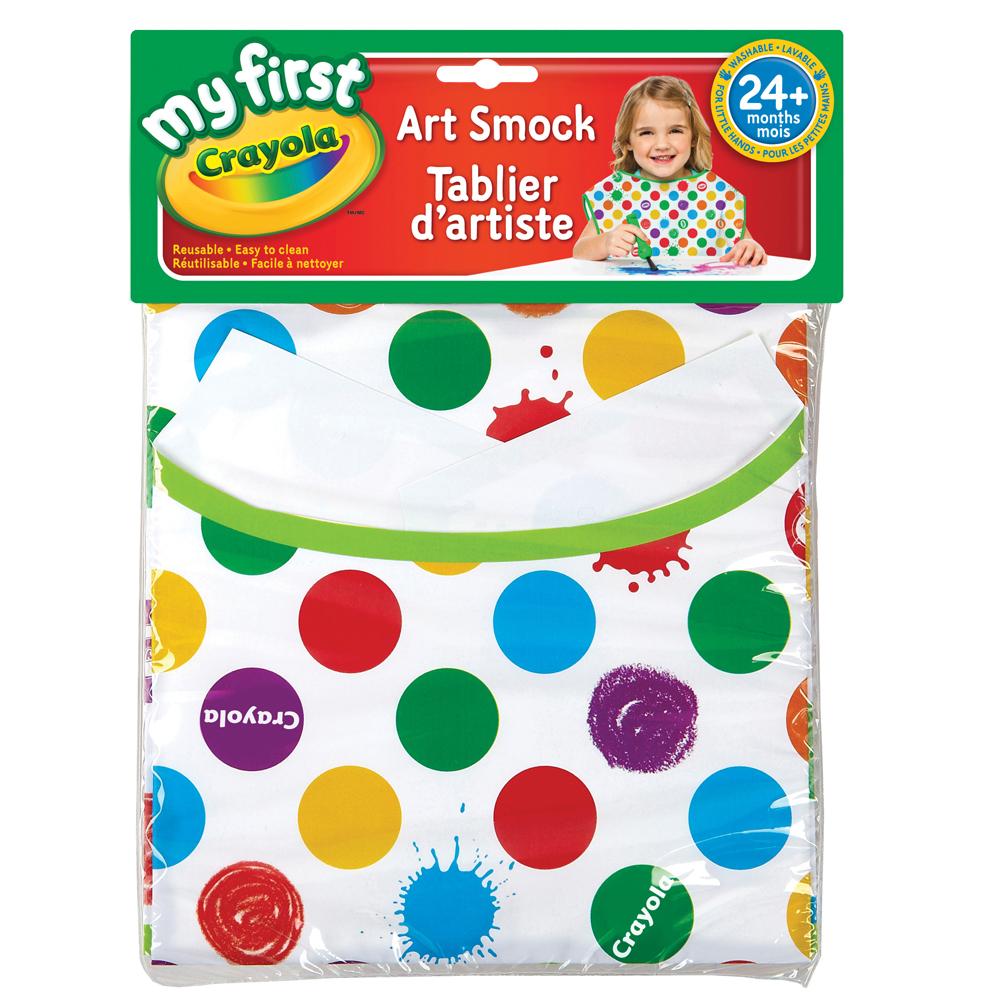 美國crayola 幼兒繪畫圍裙(2Y+)