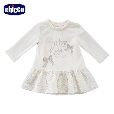 chicco玫瑰壓紋洋裝(12個月-18個月)
