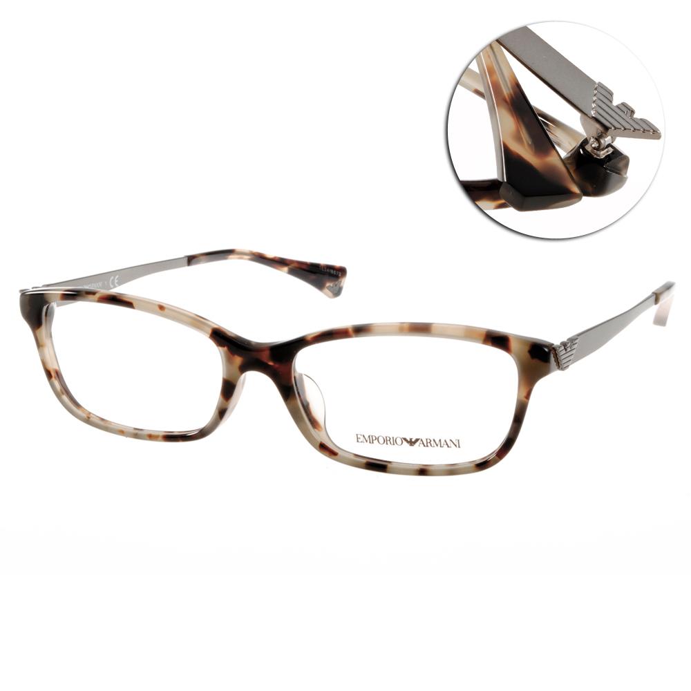 EMPORIO ARMANI眼鏡  義式經典/琥珀#EA3031F 5234