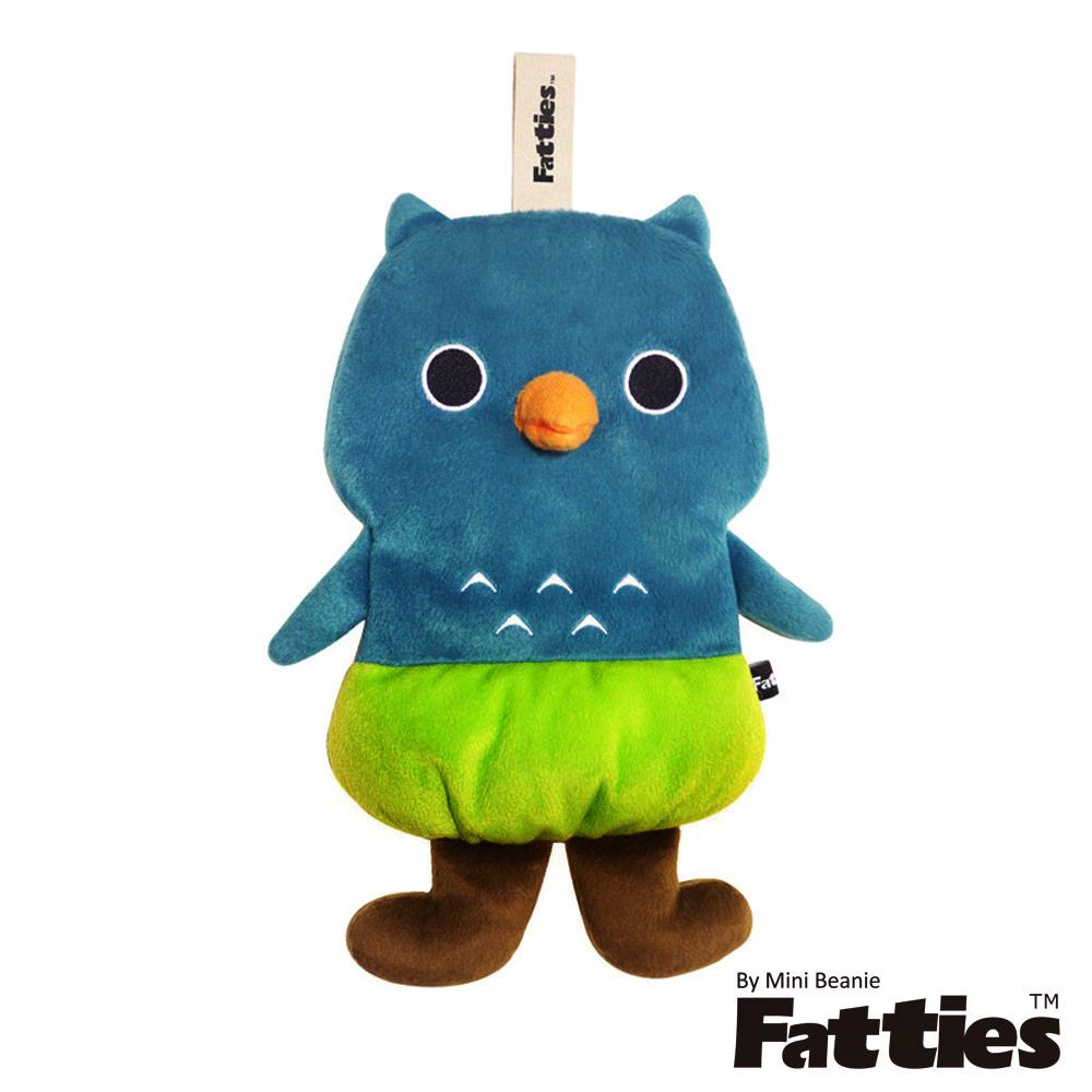 Fatties熱水袋熱敷袋機靈貓頭鷹Owl動物玩偶