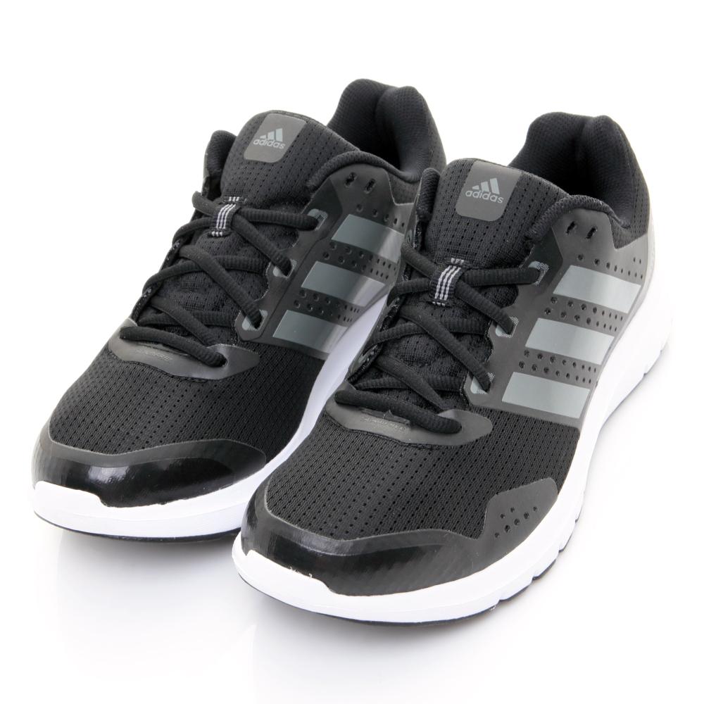 24H-ADIDAS-男慢跑鞋AF6669-黑灰
