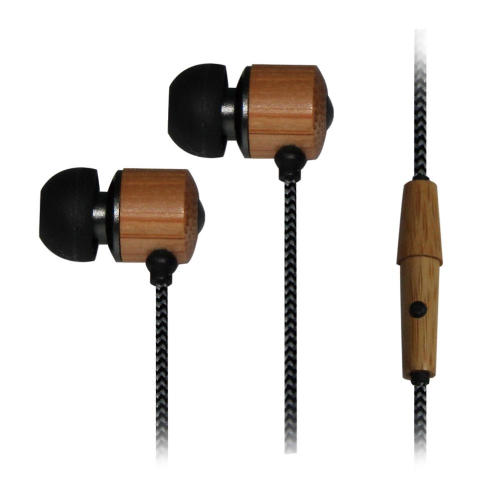 aponyo 天然竹韻線控入耳式耳機麥克風(215)
