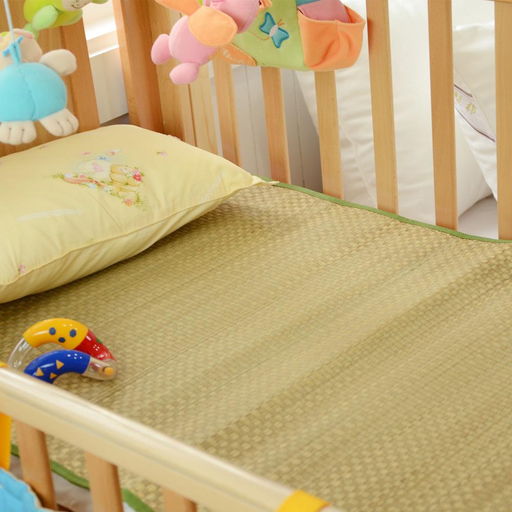 絲薇諾  無染色藺草童蓆/嬰兒涼蓆(嬰兒床專用60*120cm)