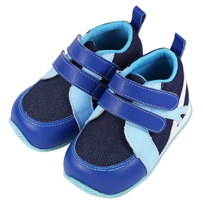 Swan天鵝童鞋-牛仔輕量運動機能鞋-藍