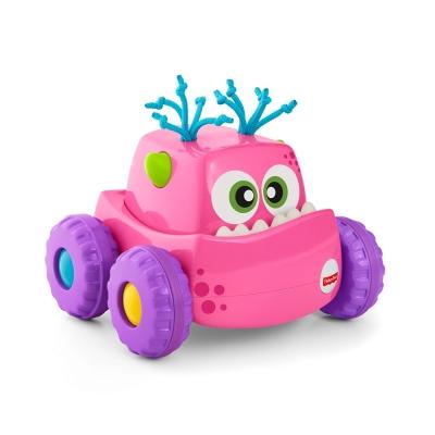 費雪 可愛怪獸行走車-粉紅(9M+)